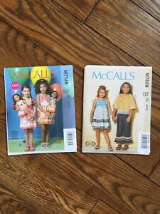 Brand new McCall's patterns - never opened