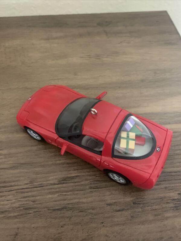 Hallmark Red 1997 Corvette C5 Classic American Cars Keepsake Ornament (1997)