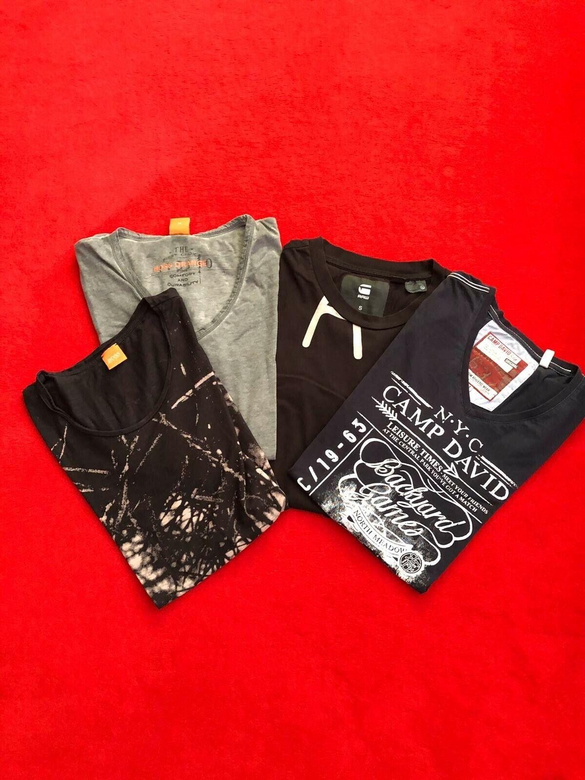 Kleiderpaket T-Shirts BOSS CAMP DAVID GSTAR RAW M S