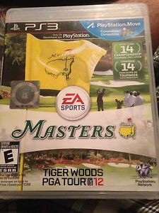 PS3 THE MASTERS ($10) OR TRADE FOR WII or WIIU GAME