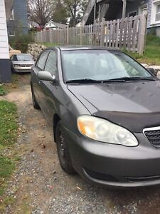 2006 Toyota Corolla (includes like new winter tires on rims)