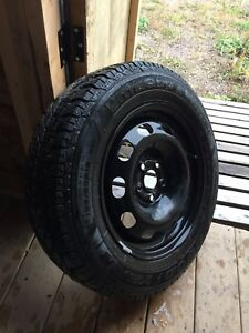 Winter tires and rims. 195 65 15, 5x100 bolt pattern