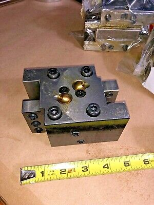 Tool Holder Block For Nakamura Tome Cnc Lathe Turret Tool Holder C21417 Qty 1