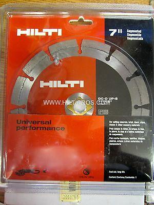 Hilti Diamond Blade 7 Turbofast Shipment Wrks Perfect.