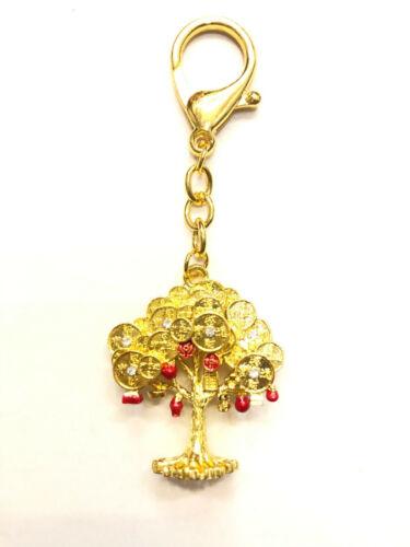 2021 Feng Shui Tree Bringing 3 Kinds of Wealth Amulet Keychain
