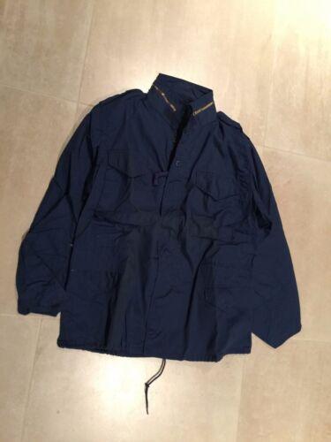 m65 jacket, navy blue vintage,usa, made 80