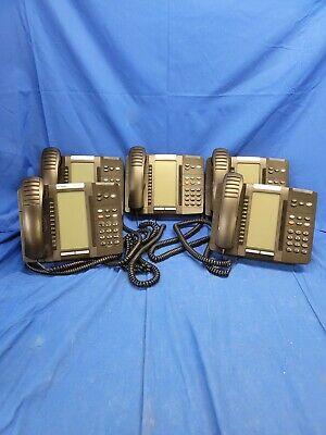 Lot Of 5 Mitel 5320e Ip Phones W Stand Handset 50006634 5425