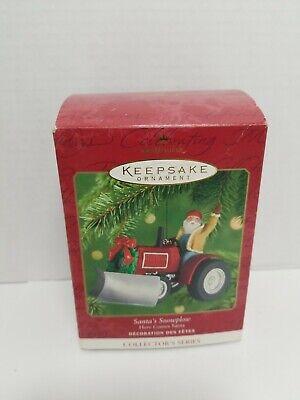 Hallmark Keepsake Ornament Santa's Snowplow #23 In Series - 8065 Series