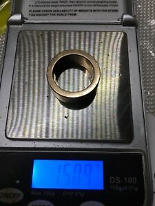 14k rose gold men's wedding band. heavy