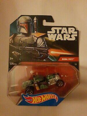 Mattel Hot Wheels Star Wars 1:64 Scale Die-cast BOBA FETT Character Car (DTB09)