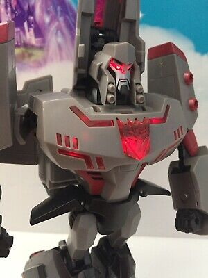 "TRANSFORMERS ANIMATED: Leader Class 12"" MEGATRON Action Fig. 2007 HASBRO"