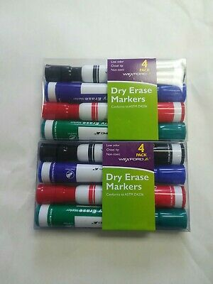 Westford Dry Erase Markers 4 Pack Lot Of 2
