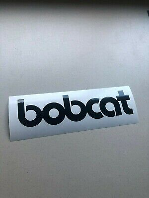 Bobcat Face Logo 12 Set Of 2 Skid Steer Multi-color Vinyl Decal Sticker