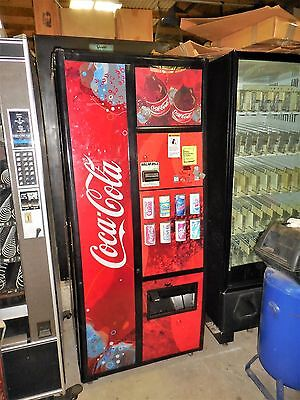 Coke Livewave Front Soda Vending Machine Royal 8 Select Multi Price Dba