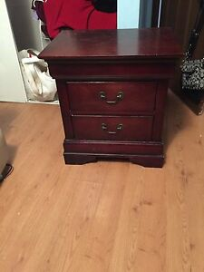 Nightstand and dresser for $150