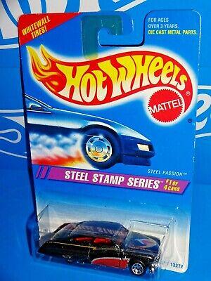 Hot Wheels No 285 Steel Stamp Series #1 Steel Passion WW/'s Wheels New 1995