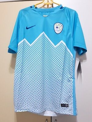 Slovenia National Football Team Home Jersey 2015/16, BNWT, Size: M image