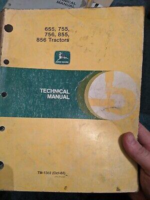 John Deere 655 755 756 855 856 Tractor Service Technical Repair Manual Tm-1360