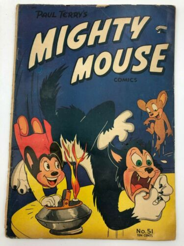 Mighty Mouse Comics #51 (1954) St. John Publishing Comic Book