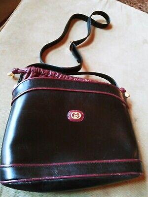 Vintage Gucci Leather saddle bag