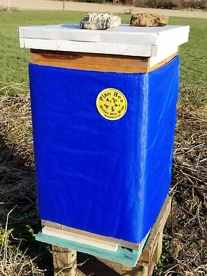 Plan Bee Winter Hive Wrap Blue 8 Frame 2 Deeps