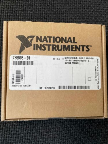 National Instruments 9262