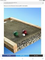 Wanted bocce court builder