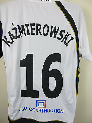 KAZMIEROWSKI Polonia Warsaw 2009-11 Player Issue Football Shirt Jersey Large L image