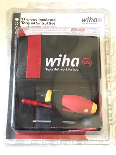 Wiha 11 Piece Insulated Torque Control Set - 28789