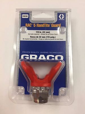 Graco Org Rac 5 Guard Paint Gun Tip Holder 243161 78 Threads Shipsfastfree