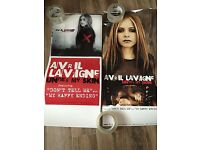 AVRIL LAVIGNE- under my skin -1 POSTER-2 SIDED-12X28 GOOD CONDITION