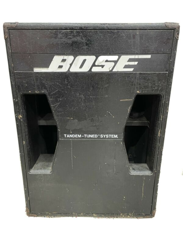 Bose 302 Tandem Tuned Bass System • Tested • Fully Functional