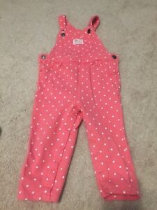 Carters overalls size 24m