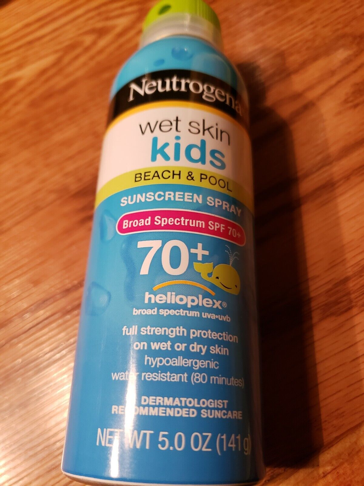 Neutrogena Wet Skin Junior Sunscreen Spray SPF 70, 5 Ounce