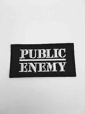 Public Enemy Patch Rap Rock Old School