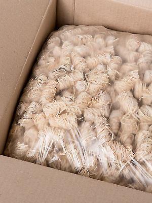 ca 800St. 10 kg Holzwolle Anzünder Kaminanzünder Bioanzünder Feueranzünder  Holz
