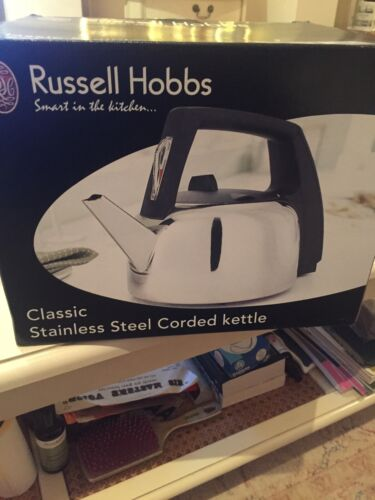 Retro Russell Hobbs Automatic Kettle 4101-10 Stainless Steel Classic Range