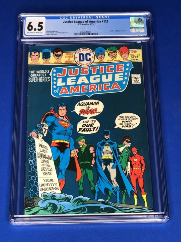 Justice League of America 122 (CGC 6.5); Doctor Light; 1975