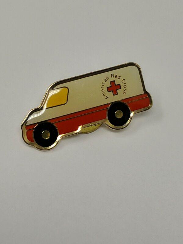 American Red Cross ARC Emergency Vehicle Van Pin Bin 4/24