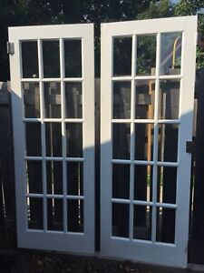 French Doors—Solid Wood