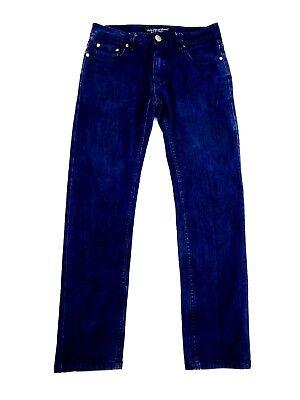 Victorious Herren Skinny Dunkle Waschung Designer Jeans 30 X 30 ()