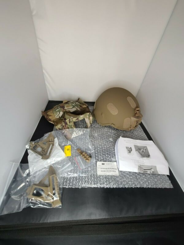 US Army 3M Ceradyne IHPS Integrated Head Protection System Helmet - LARGE
