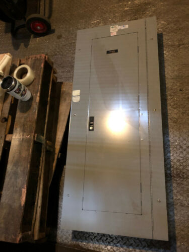 42 Pole GE Breaker Panel Panelboard 225A 208v/120