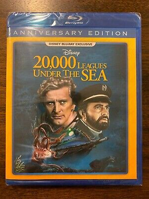 20,000 Leagues Under The SeaDisney Exclusive (Blu-ray) Brand NEW Unopened