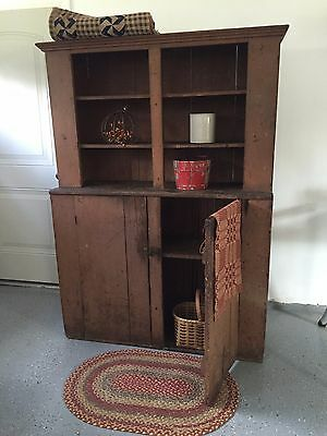 Primitive Grungy PA large Cupboard Pattern/Plan WN169