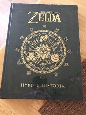 The Legend of Zelda: Hyrule Historia HARDCOVER  SEALED