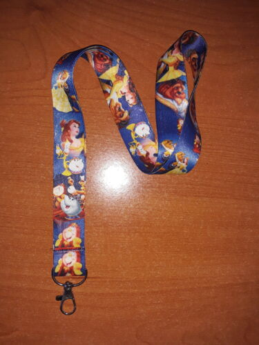 A Walt Disney Movie Belle Beauty and The Beast Android Phone Holder Lanyard A