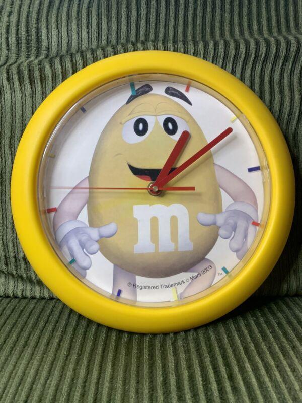 VINTAGE M&M Mars Clock