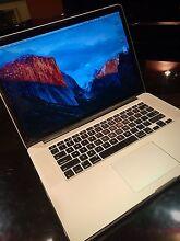 "*Mint Cond* 15"" Macbook Pro Retina, Mid-2014, Under Warranty. West Beach West Torrens Area Preview"