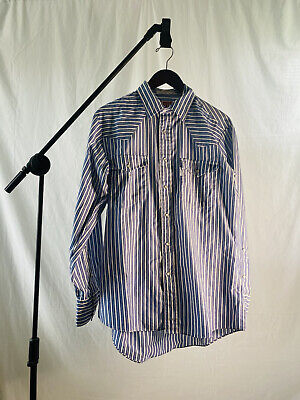 1970s Mens Shirt Styles – Vintage 70s Shirts for Guys 1970's Levis Pearl Snap Button Up Collared Dress Shirt  $50.00 AT vintagedancer.com
